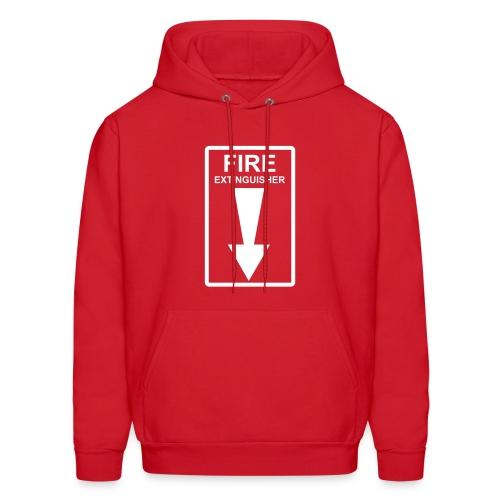 Fire Extinguiser Hoodie - Men's Hoodie