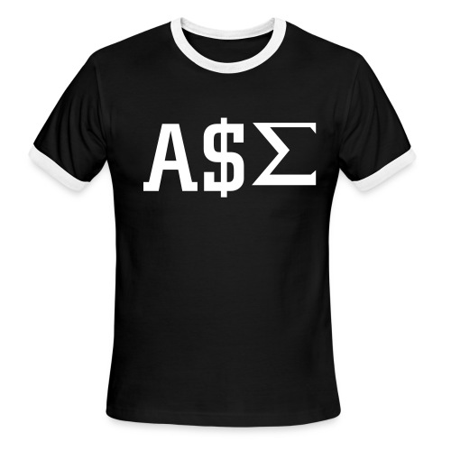 A$S - Men's Ringer T-Shirt