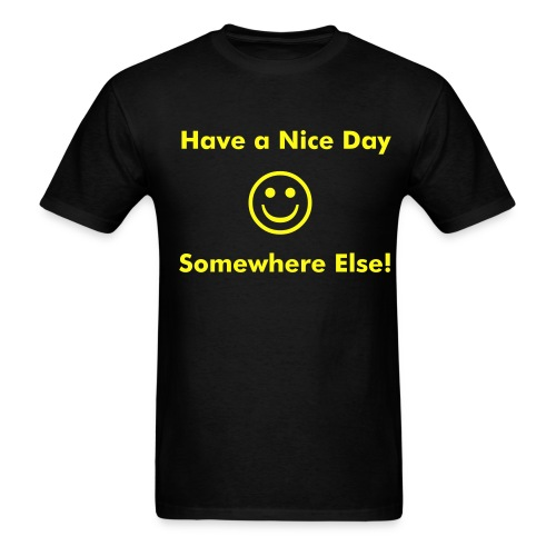 Nice Day - Men's T-Shirt