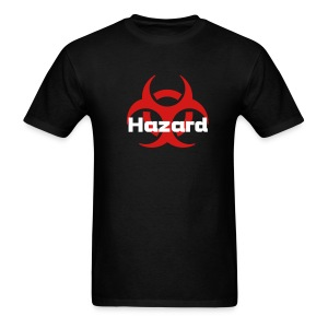 Hazard Black T-Shirt - Men's T-Shirt