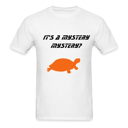 Turtle Mystery - Men's T-Shirt