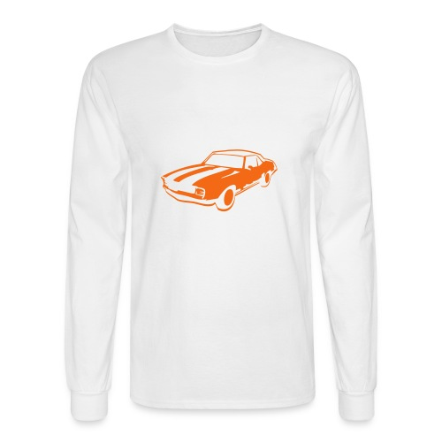 White Long Sleeve T-Shirt - Men's Long Sleeve T-Shirt