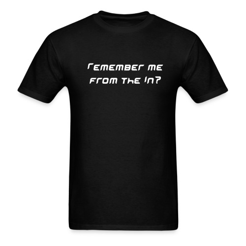 Remember Me T-shirt - Men's T-Shirt