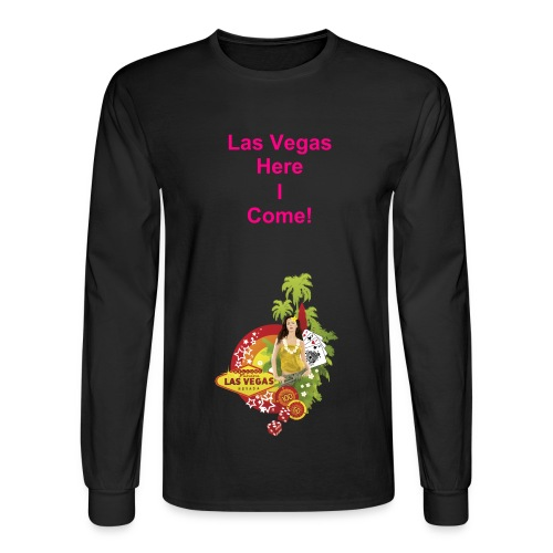 Goin Travlin! - Men's Long Sleeve T-Shirt
