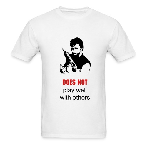 play well chuck - Men's T-Shirt