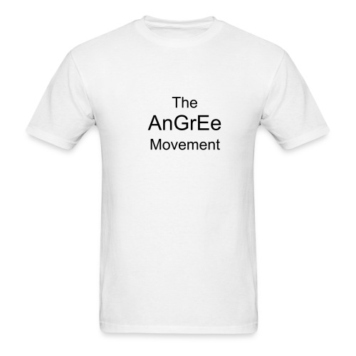 The Angree Movement - Men's T-Shirt