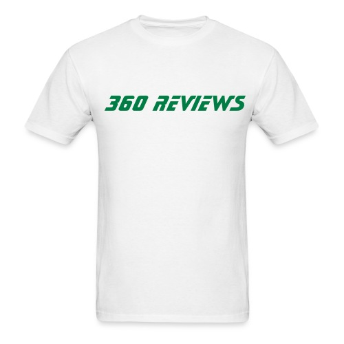 360 Reviews White Tee - Men's T-Shirt