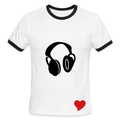 Music - Men's Ringer T-Shirt