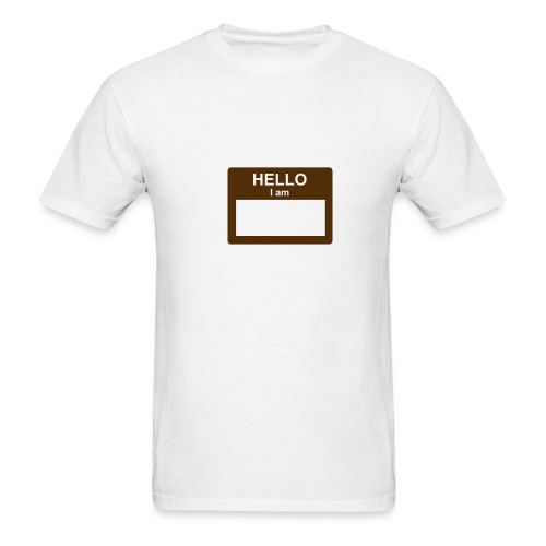 Hello, I Am... - Men's T-Shirt