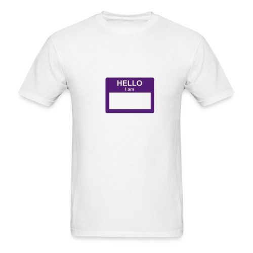 Hello, I Am... - Men's T-Shirt