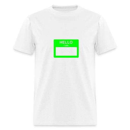 Hello I Am... - Men's T-Shirt