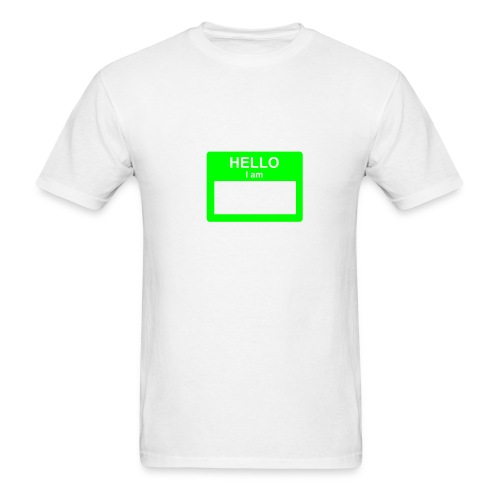 Hello I Am... - Men's T-Shirt