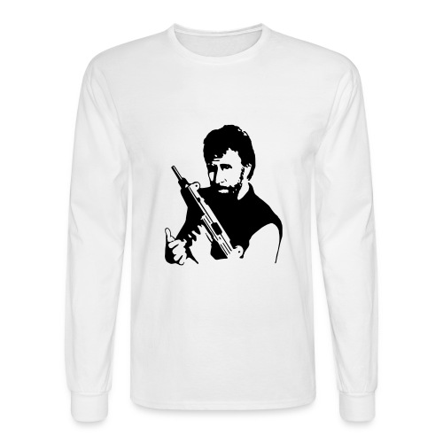Chuck Norris - Men's Long Sleeve T-Shirt