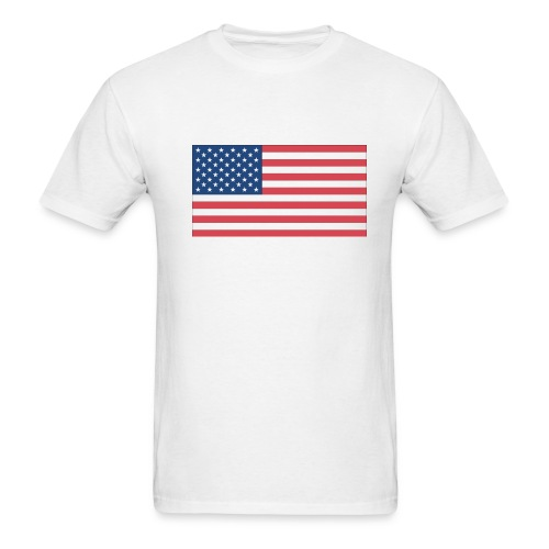 American Flag Tee - Men's T-Shirt
