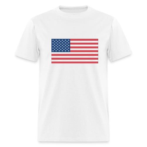 American Flag Tee - Men's T-Shirt