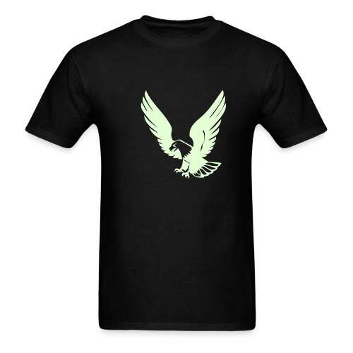 Glow in the Dark Eagle Tee - Men's T-Shirt