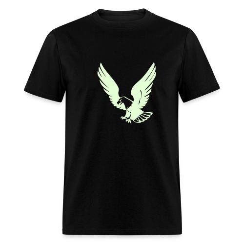 Glow in the Dark Eagle Tee - Men's T-Shirt