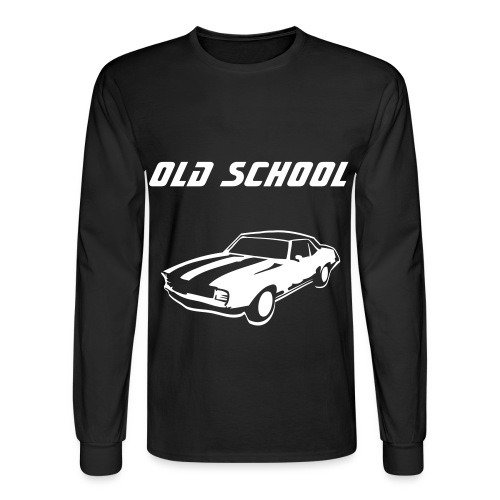 Old School Car - Men's Long Sleeve T-Shirt