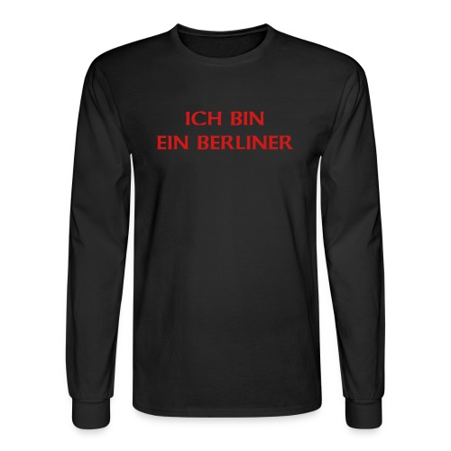 Shirt in German - Men's Long Sleeve T-Shirt