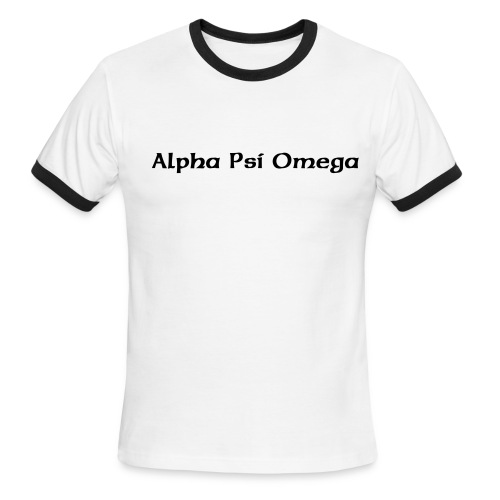 APO1 - Men's Ringer T-Shirt
