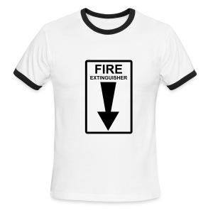 Fire - Men's Ringer T-Shirt