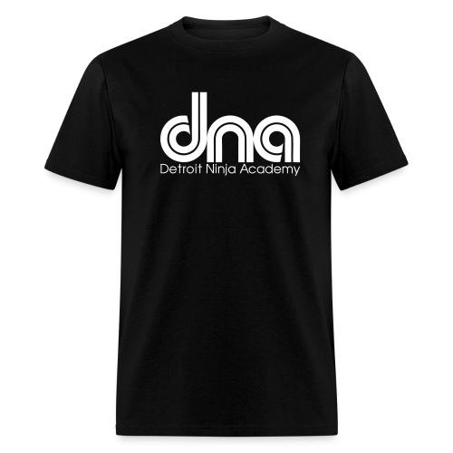 DNA SS blk/white - Men's T-Shirt