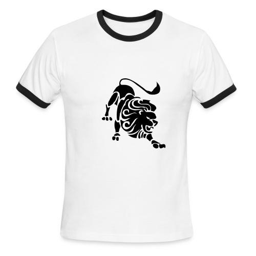 The Lion - Men's Ringer T-Shirt