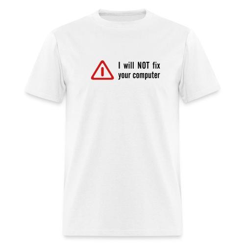 No fix - Men's T-Shirt