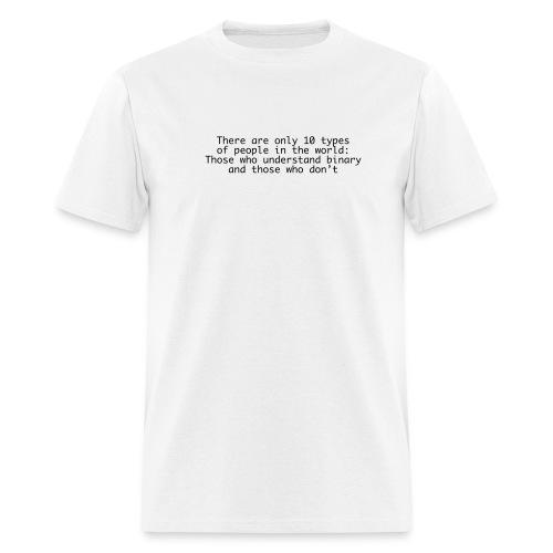 10 types - Men's T-Shirt