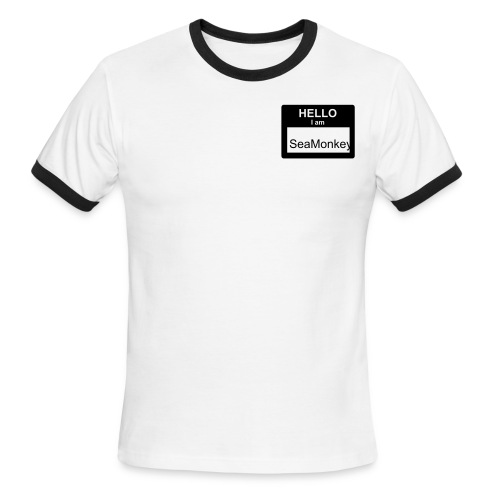 Name Tag T-Shirt - Men's Ringer T-Shirt