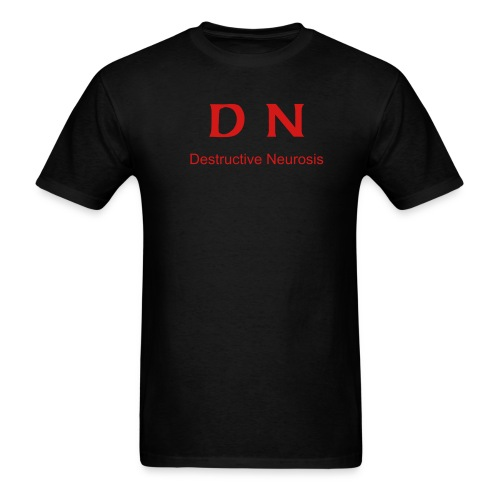 Black and Red T - Men's T-Shirt