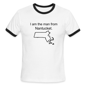 Nantucket - Men's Ringer T-Shirt