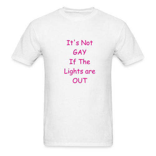 Not Gay Tee - Men's T-Shirt