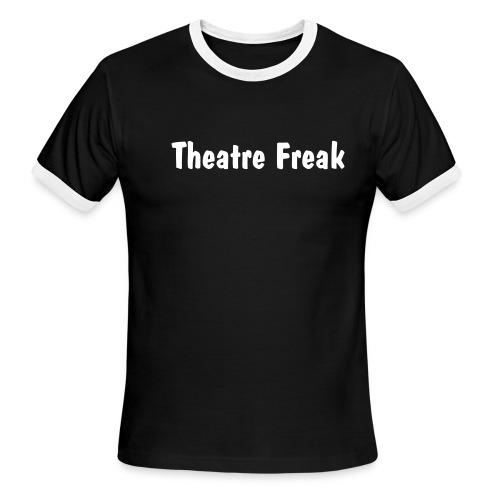 Theatre Freak - Men's Ringer T-Shirt