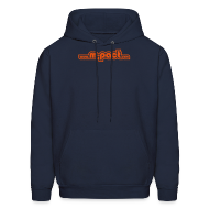 Hoodies ~ Men's Hoodie ~ 'Retroweb' Hooded Sweatshirt
