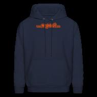 Hoodies ~ Men's Hoodie ~ 'Retroweb' Hooded Sweatshirt
