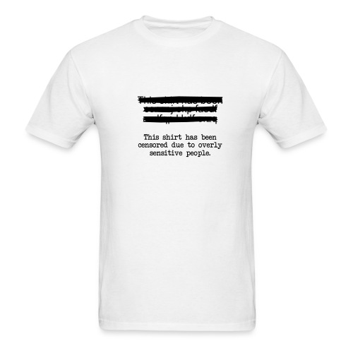 stupid censors - Men's T-Shirt