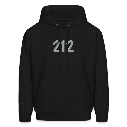 Customize to Rep Your Hood- New York (Guy's Black and Gray) - Men's Hoodie