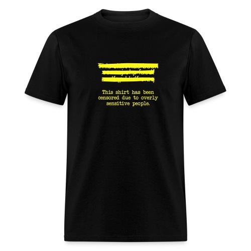 Censor - Men's T-Shirt
