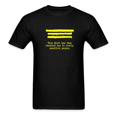 Censor - Men's T-Shirt