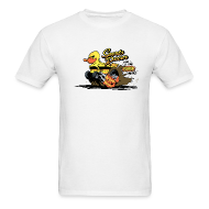 T-Shirts ~ Men's T-Shirt ~ duckie hotrod - white