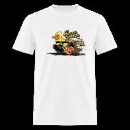 T-Shirts ~ Men's T-Shirt ~ duckie hotrod - white