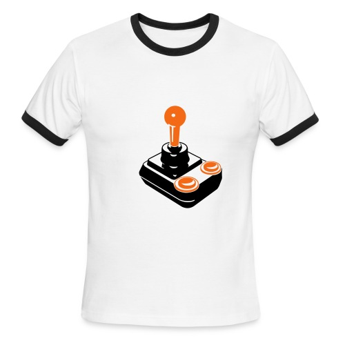 Joystick (M) - Men's Ringer T-Shirt