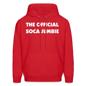 THE OFFICIAL SOCA JUMBIE - IZATRINI.com - Men's Hoodie