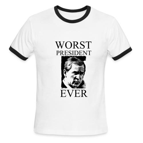 Worst President Ever - Men's Ringer T-Shirt