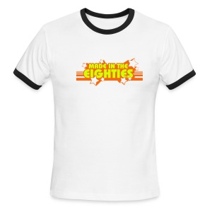 Made in the 80s (Red Ringer) - Men's Ringer T-Shirt