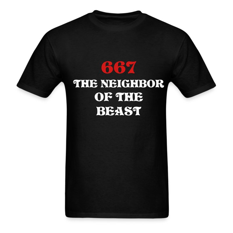 667 - The Neighbor Of The Beast - Men's T-Shirt