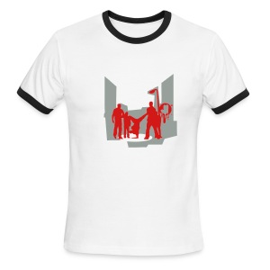 Revolutioj Bboy - Men's Ringer T-Shirt