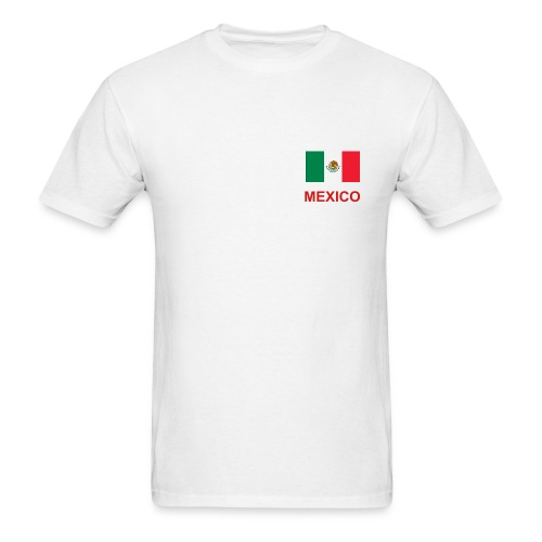 MEXICO SOCCER         2010  (back/front design) - Men's T-Shirt