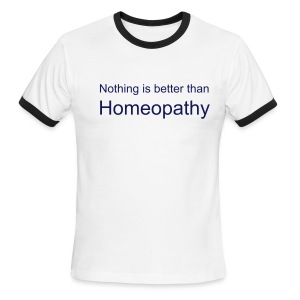 Homeopathy - Men's Ringer T-Shirt